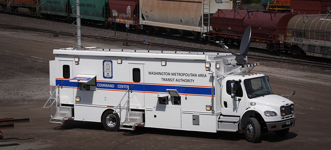 Dc Metro Command Vehicle Nomad Gcs