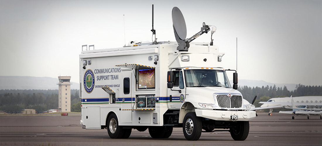 Faa Emergency Response Vehicle Nomad Gcs